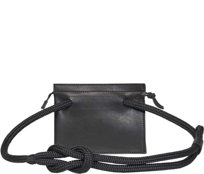 Handbag Black Sailing Rope Bag