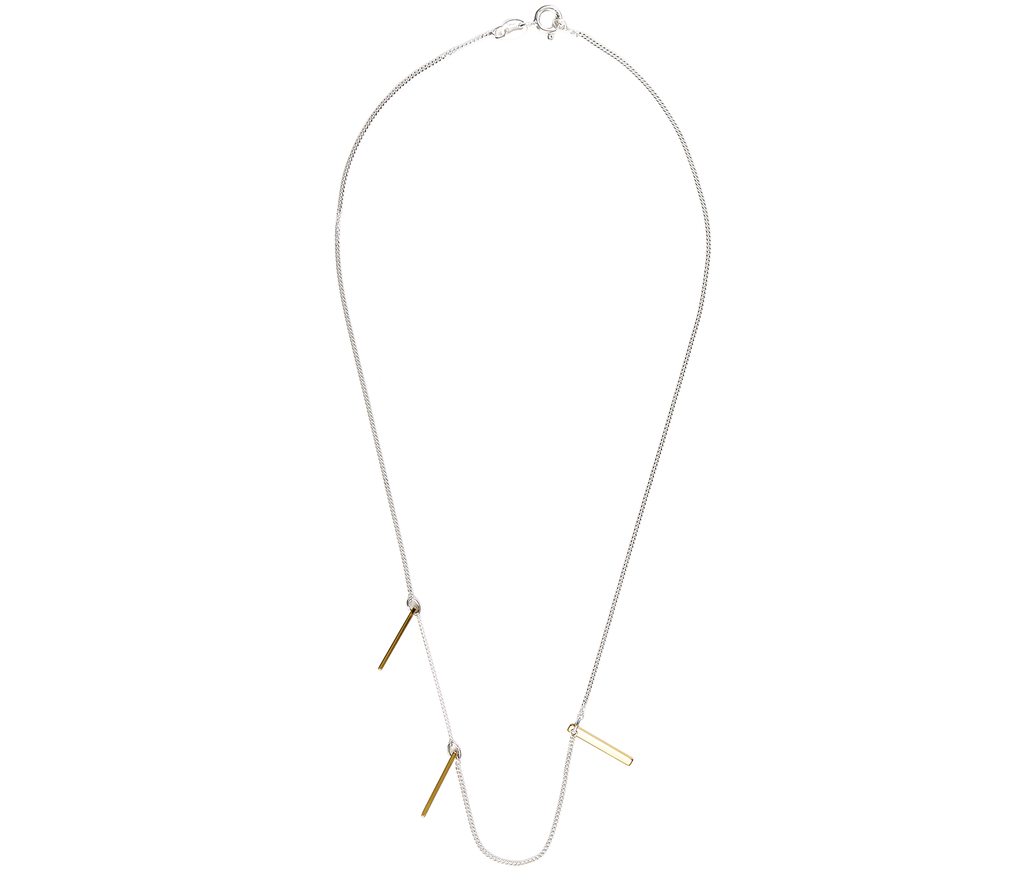 Jewelry Slat Necklace
