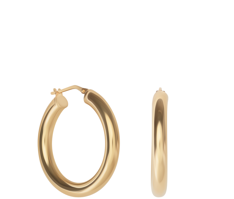 Jewelry Small Hollow Hoops