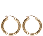 Load image into Gallery viewer, Jewelry Gold Small Hollow Hoops