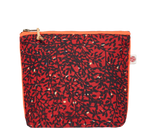 Load image into Gallery viewer, Accessories Red Small Kitenge Pouch