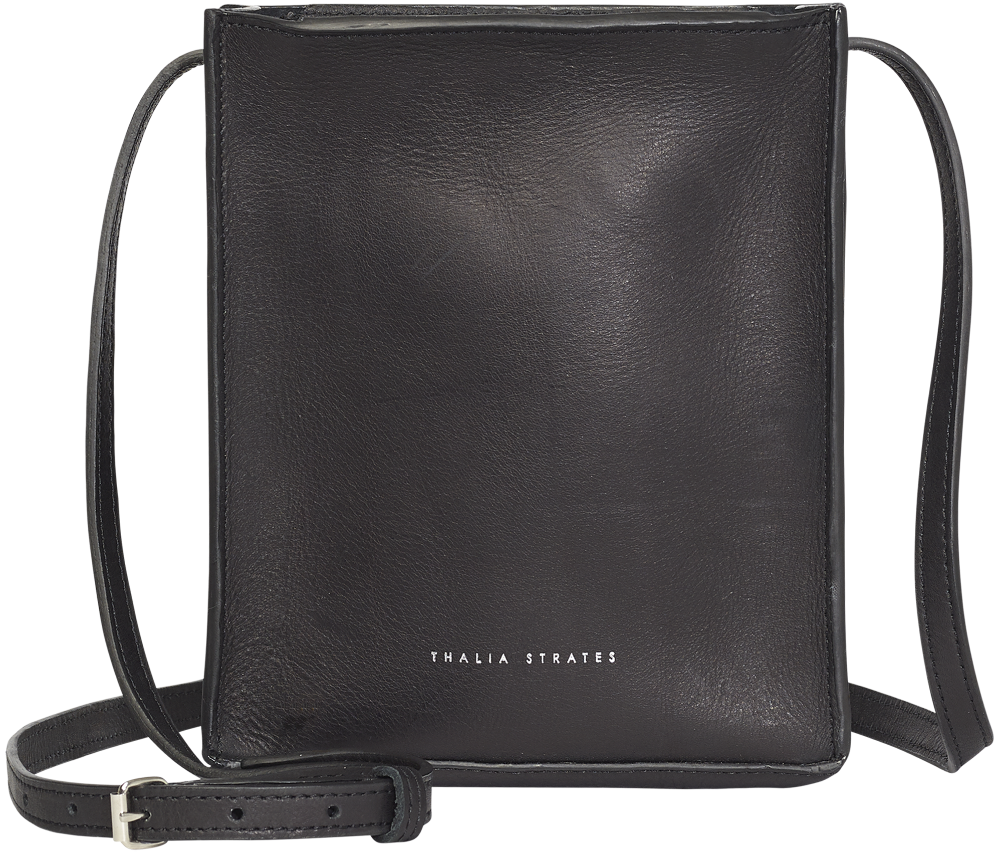 Handbag Black Structured Crossbody Bag
