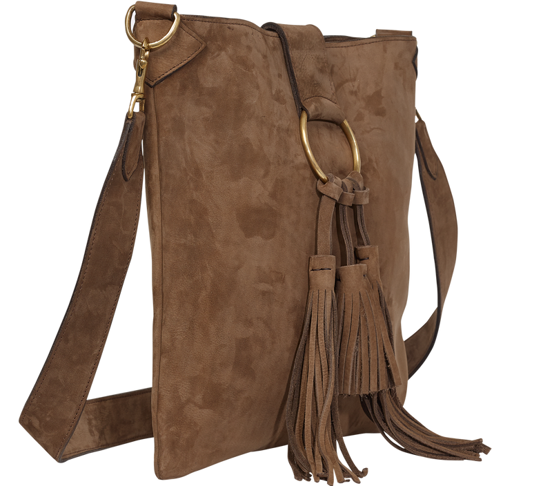 Handbag Suede Crossbody Bag