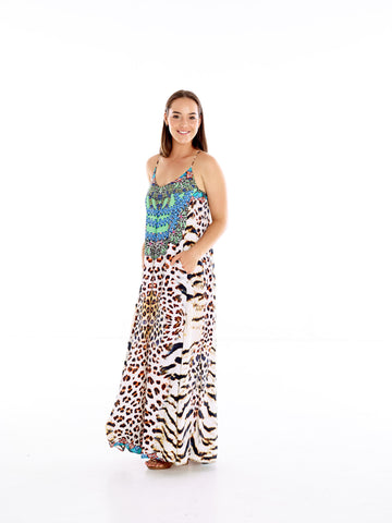 Congo T-Back Dress