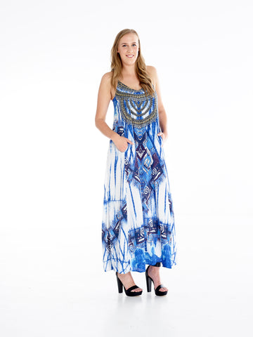 Bandi Tye Dye T-Back Dress