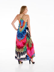Falcon Flight T-Back Dress