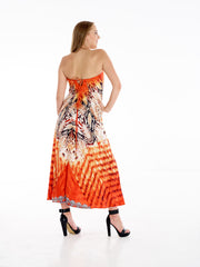Coral Snake Necklace Dress