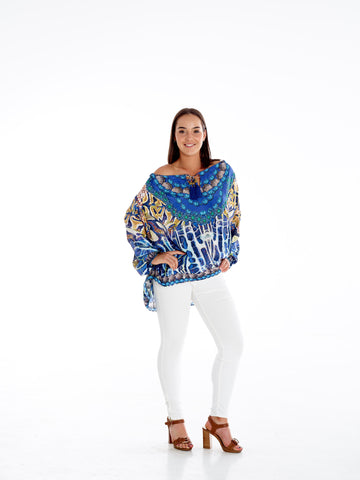 Cavelli Snake Gypsy Top