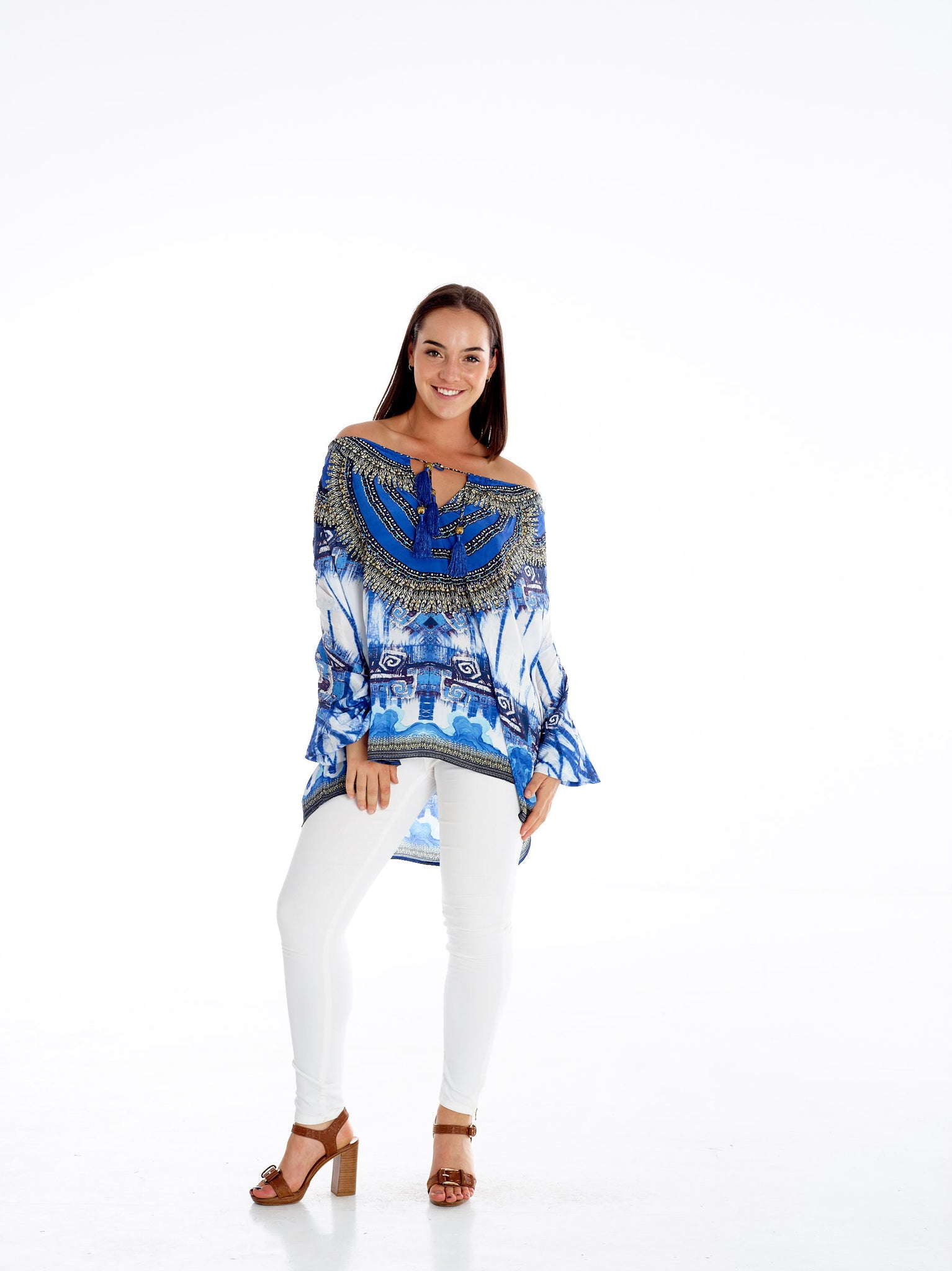 Bandni Tye Dye Gypsy Top
