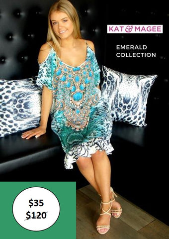 Emerald Bali Dress