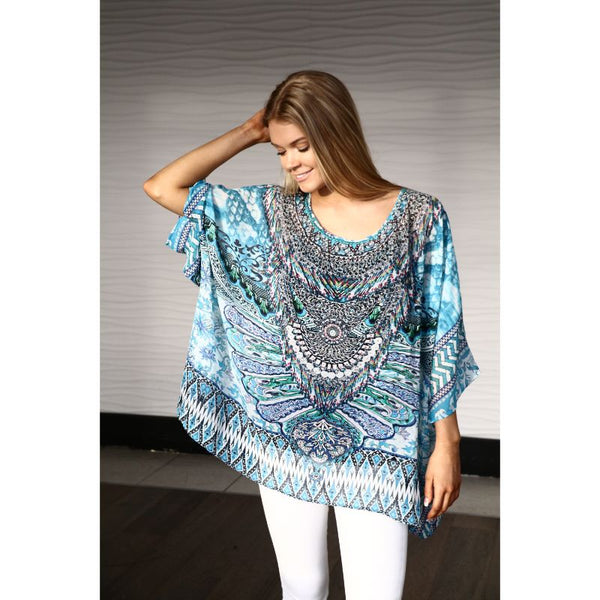 Amalfi Round Neck Top