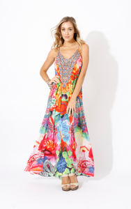 Eden T-Back Maxi Dress
