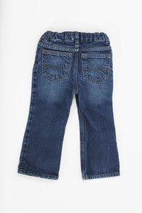 Baby Boys Jeans 24M Boot Cut w/ adjustable straps