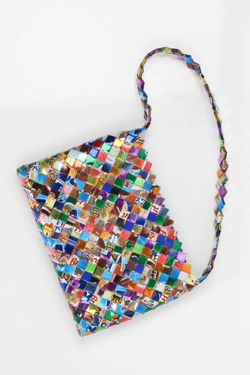 Ladies Purse *made of candy wrappers, great for tablets, books etc.