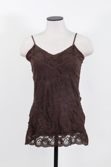 Ladies Cami Medium (solid lace crinkle)