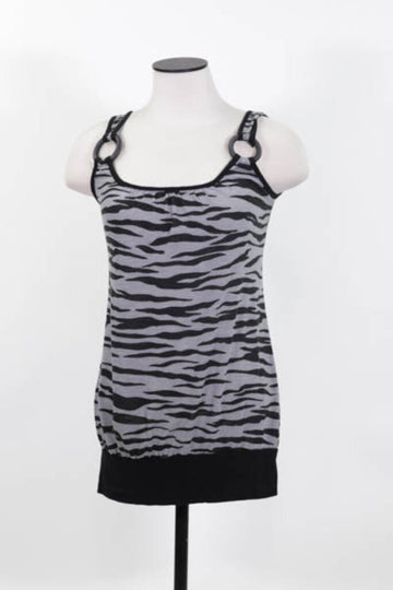 Ladies Tank Small Zebra print