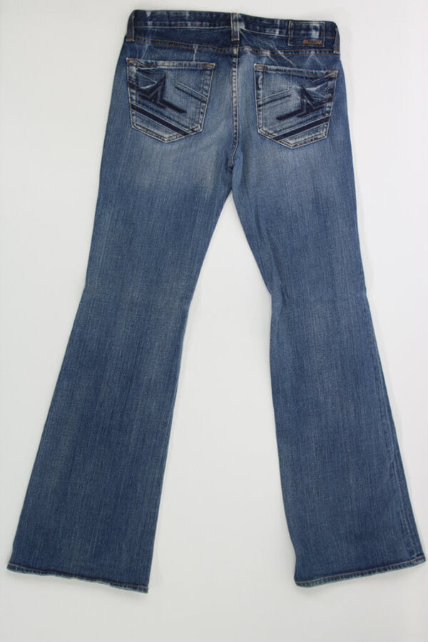 Ladies Jeans 30L sweet low boot 04 - BURGUNDY 20.23 Live Now Consign