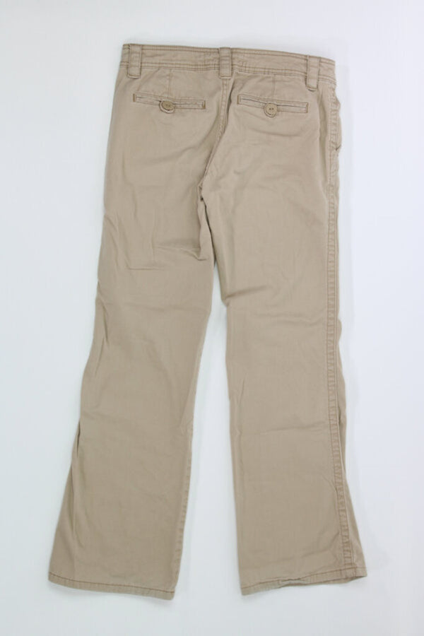 Ladies Pants 3/4 short stretch 04 - BURGUNDY 6.71 Live Now Consign