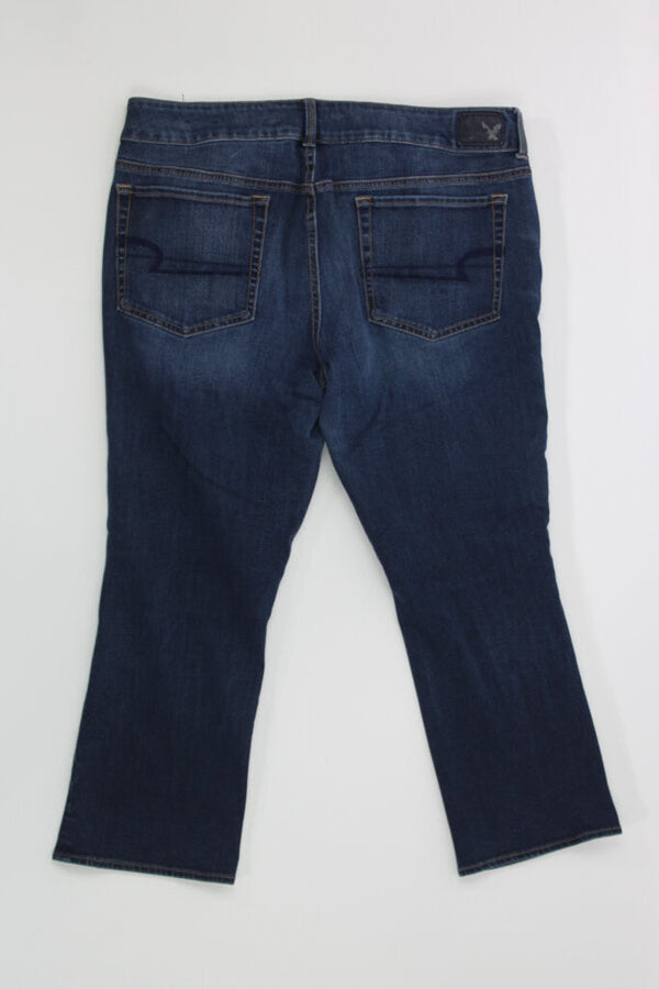 Ladies Capris16 regular super stretch jean 04 - BURGUNDY 14.98 Live Now Consign