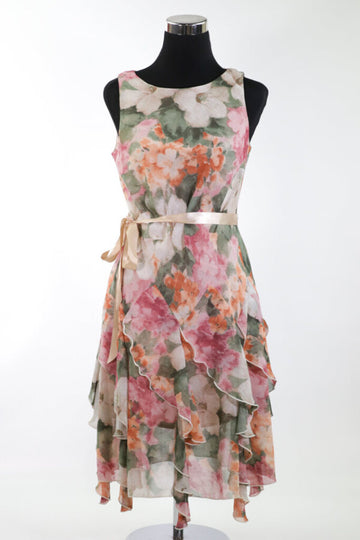 Ladies Dress 10 floral