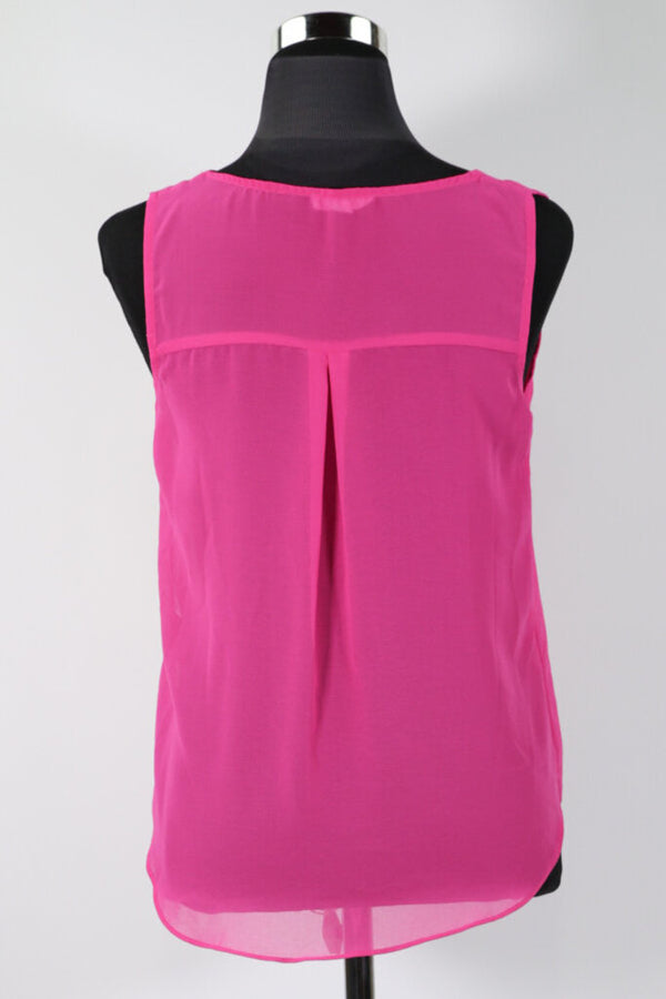 Ladies Top Small Sleeveless 05 - LIGHT PINK 8.99 Live Now Consign