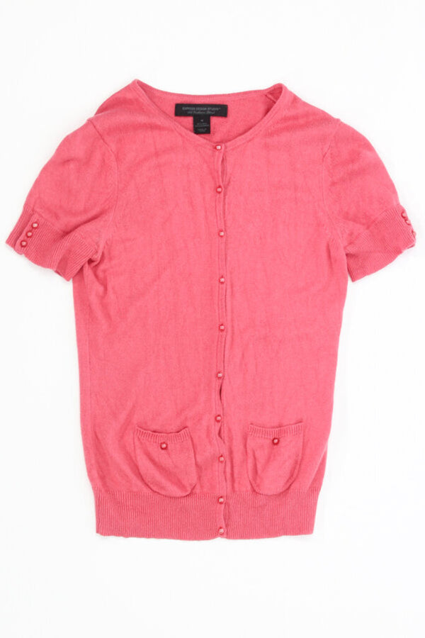 Ladies Top Medium Sweater material 05 - LIGHT PINK 11.99 Live Now Consign