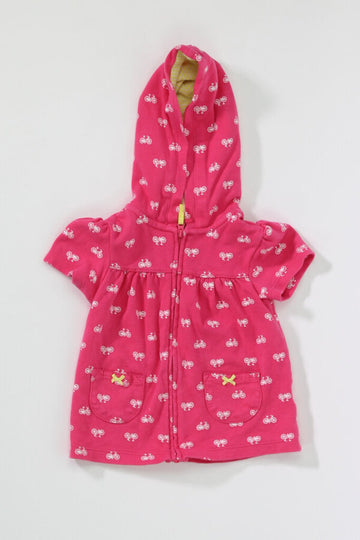 Baby Top 24M Bicycles Hooded Zip Up