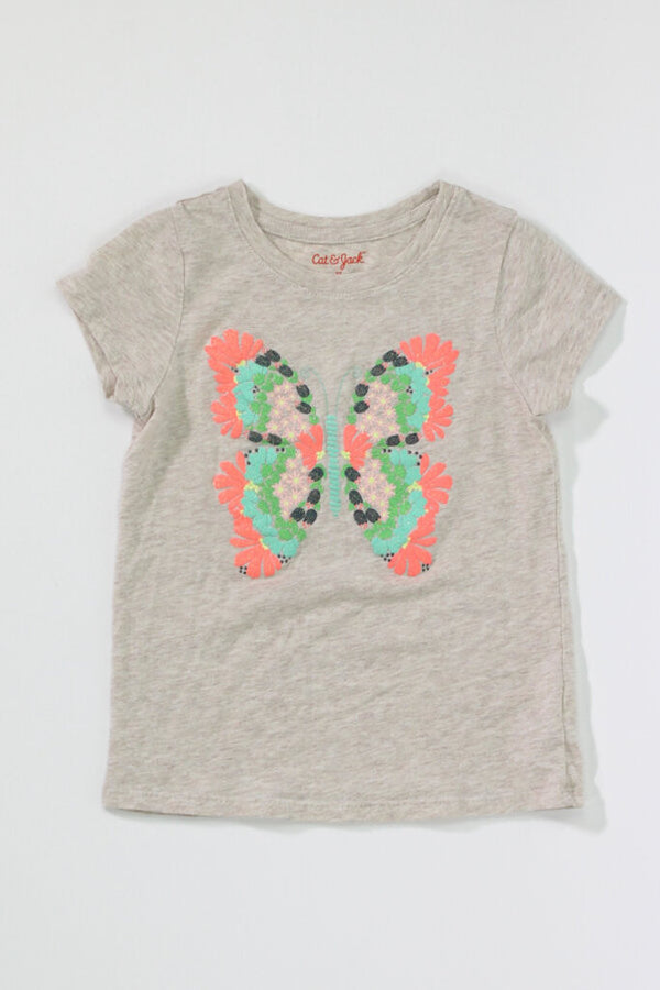 Toddler Girls SS Tee 5T 06 - ROYAL BLUE 2.63 Live Now Consign