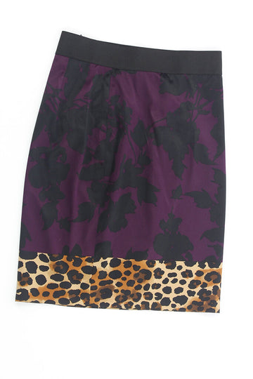 Ladies Skirt 2 Floral & Leopard Print