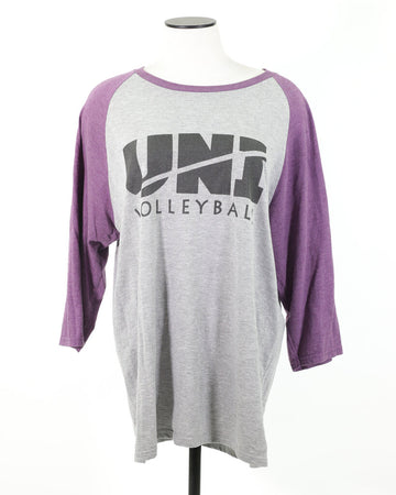 Ladies Top Large 3/4 Sleeve UNI VB