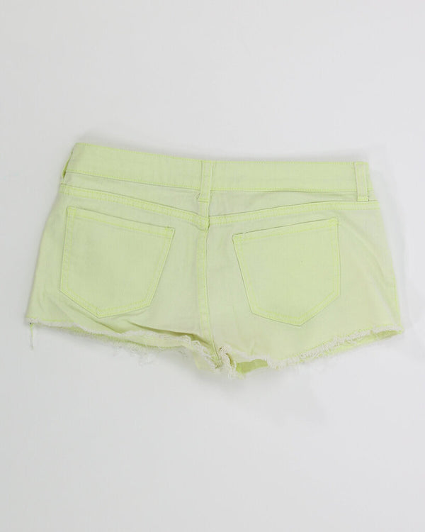 Ladies Shorts 10 09 - YELLOW WEEK 11.99 Live Now Consign