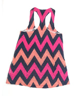 Ladies Tank Small Chevron 09 - YELLOW WEEK 12.99 Live Now Consign