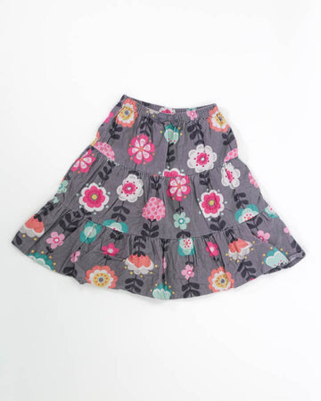 Girls Skirt 5 Flowers