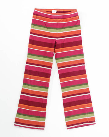 Girls Leggings 6 Multi Stripes