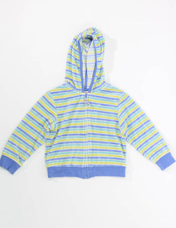 Girls Top 5 Zip Up Hoodie