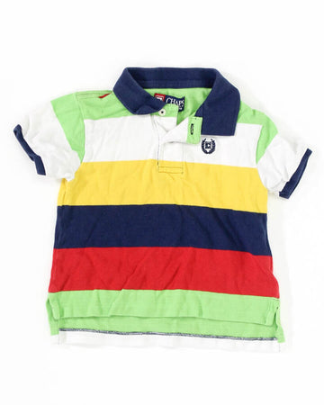 Baby Boy Polo 2T SS Multi Color