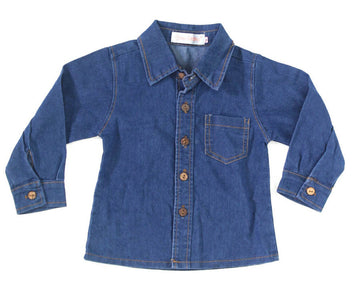 Toddler Top 2T LS Button Down