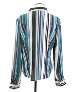 Ladies Top L LS Button Down 12 - KELLY WEEK 2.50 Live Now Consign