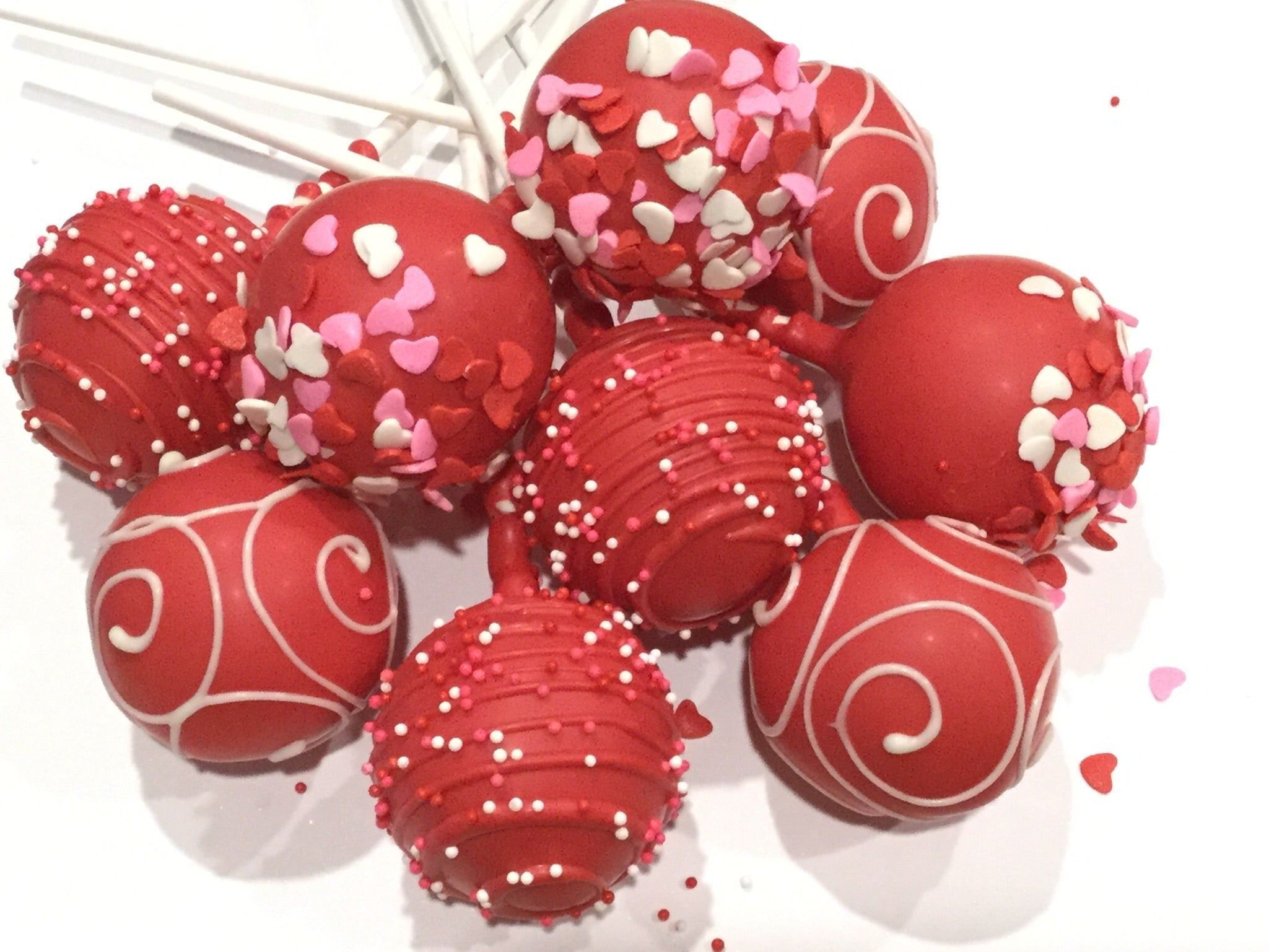 Classic Red Velvet Cake Pops - price per item