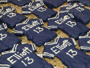 Specialty Customized Jersey Rice Krispie Treat- price per item