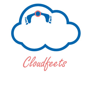 2 pairs - Cloudfeets™: Forefoot pain relief