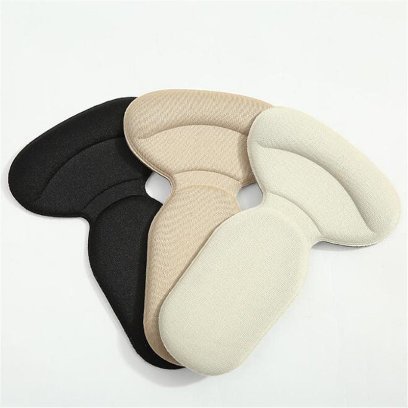 2 pairs - T Shape Heel Cushion