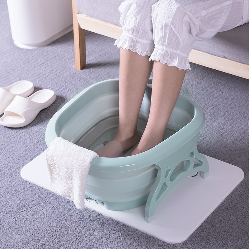 Cloudbucket - Foldable Foot Bath Massage Bucket