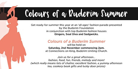 Buderim Foundation Colours of a Buderim Summer Charity Fashion Parade