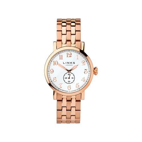 Links of London Gents Rose Gold Watch - Rocks Jewellers
