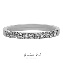 Load image into Gallery viewer, White Gold Diamond Wedding Ring