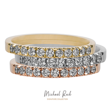 Load image into Gallery viewer, Rose Gold Diamond Wedding Rnig