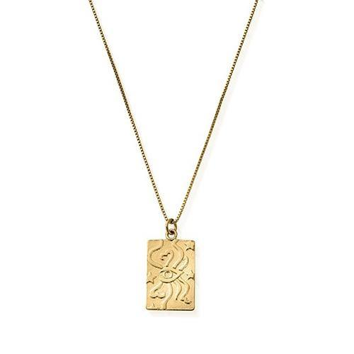 Gold Divine Guidance Necklace