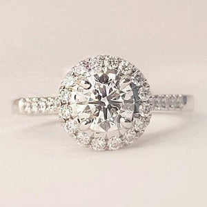 Charlie Lab Diamond Ring
