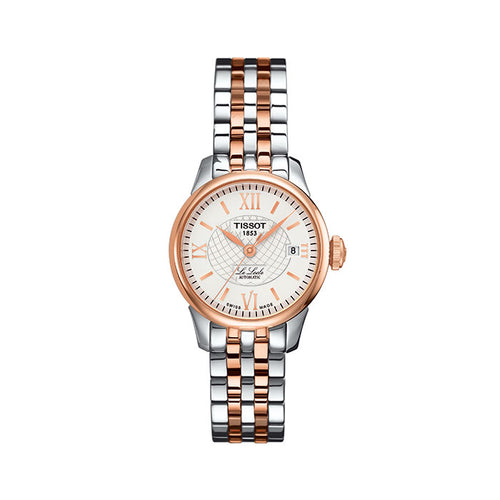 Le Locle Ladies Two Tone Rose Gold